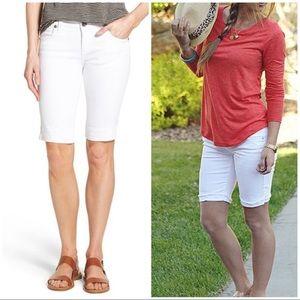 KUT FROM THE KLOTH White Bermuda Shorts 2